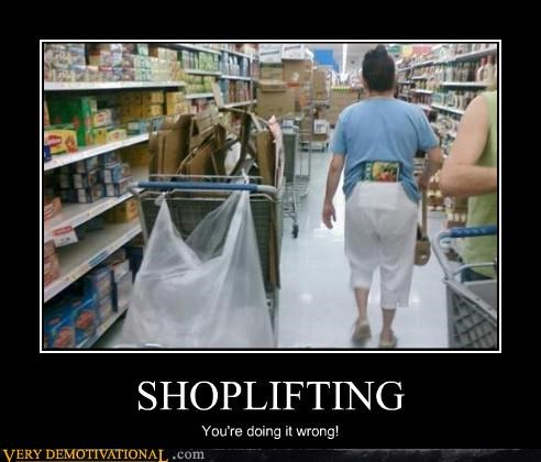 wtf,shoplifting,idiots