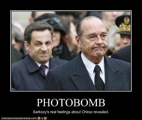 france jacques chirac Nicolas Sarkozy photobomb president - 3018112512