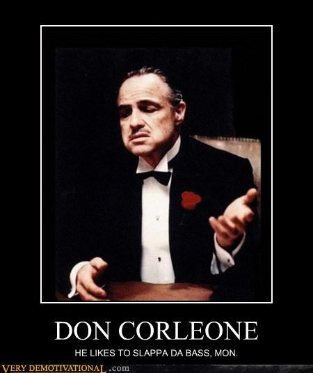 don corleone,godfather,bass