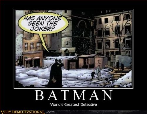 batman comics detective hilarious idiot question