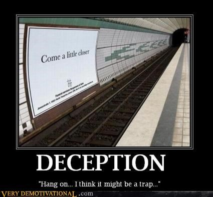 accident danger deception Pure Awesome Subway