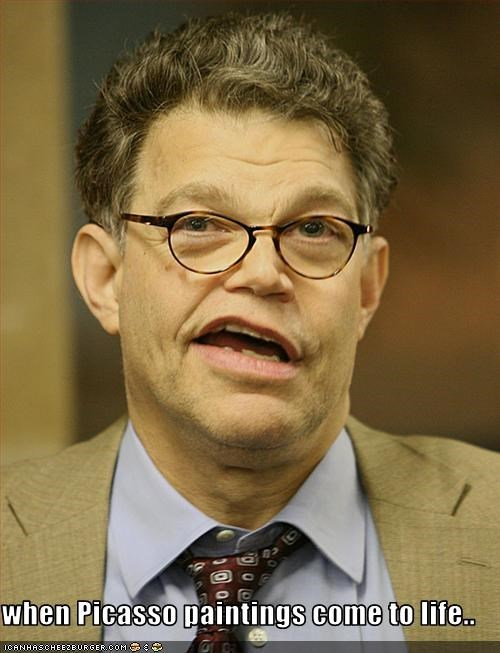 Al Franken democrats paintings senator United States Senate