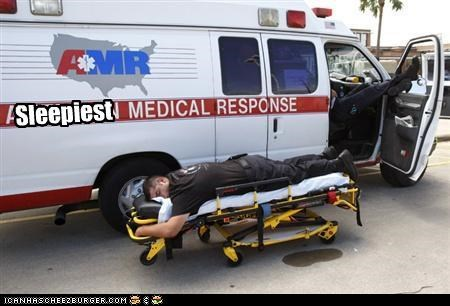 ambulance,emt,sleep