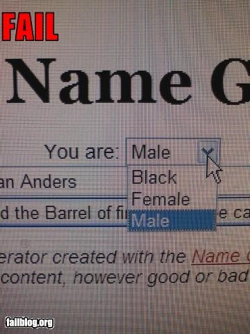 black choice equality female form g rated internet male