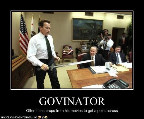Arnold Schwarzenegger,california,Governor,movies,swords