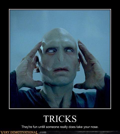 got your nose Harry Potter voldemort