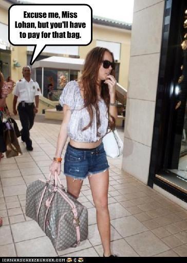 handbag hasbeen lindsay lohan stealing - 3024244992