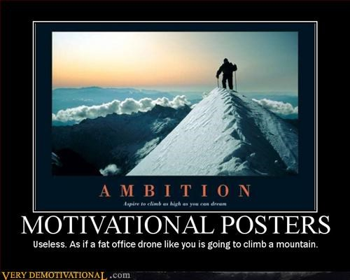 climbing demotivate fatties Office Pure Awesome Sad - 3025598720