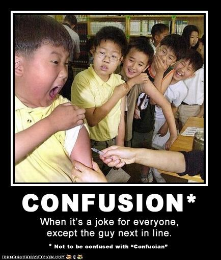 children confusion jokes vaccination