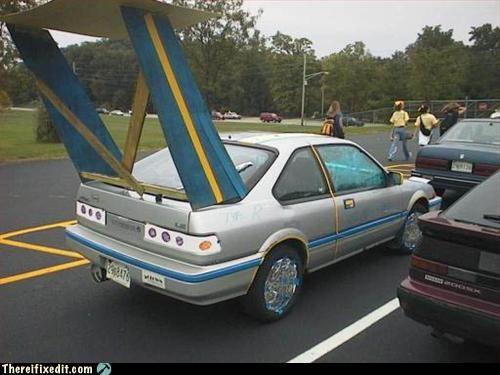 car mod overkill spoiler - 3027374336