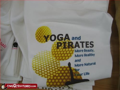 beauty clothing g rated healthy life natural Pirate T.Shirt yoga - 3027541248