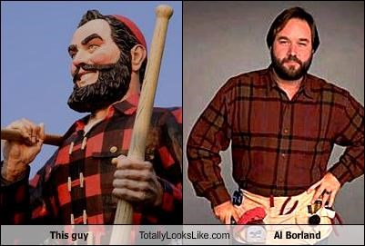 This guy Totally Looks Like Al Borland