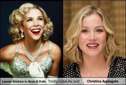 Lauren Graham in Guys & Dolls Totally Looks Like Christina Applegate