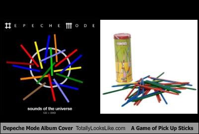 albums cover Depeche Mode pick up sticks