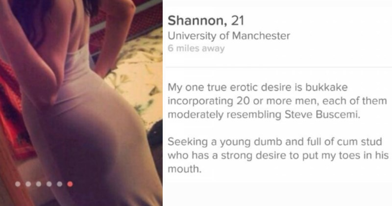 Women Who Weren't Shy About What They Were After On Tinder