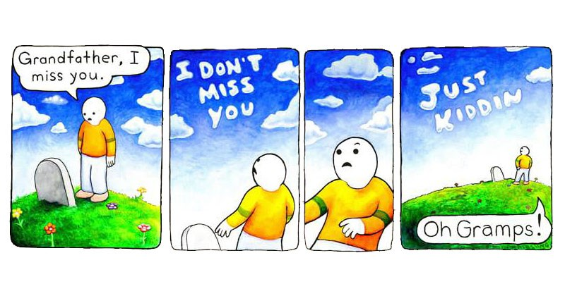 Collection of comics from the Perry Bible Fellowship.