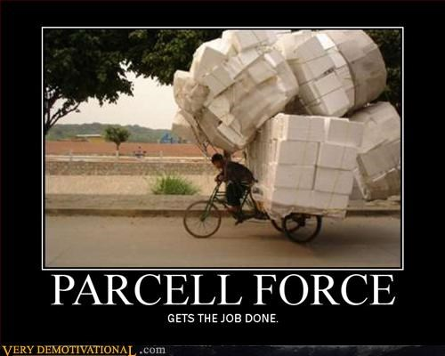 delivery,incredible,mail,package,parcell force,Pure Awesome