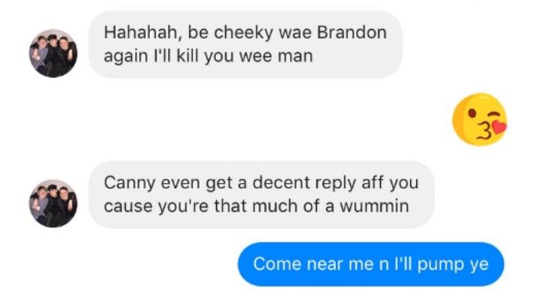 scottish facebook texting funny - 3038469