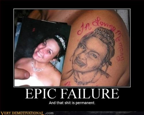 bad epic FAIL hilarious tattoo ugly - 3039015680