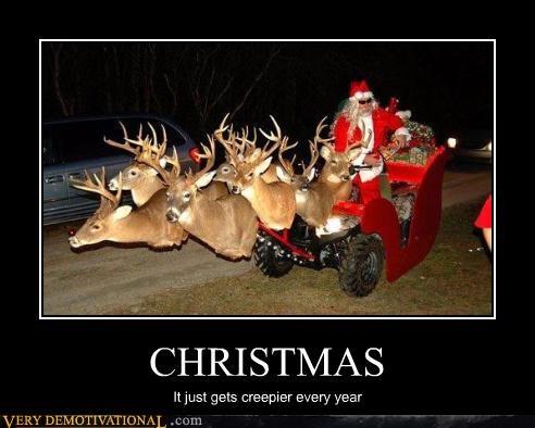 christmas creepy santa - 3039385600