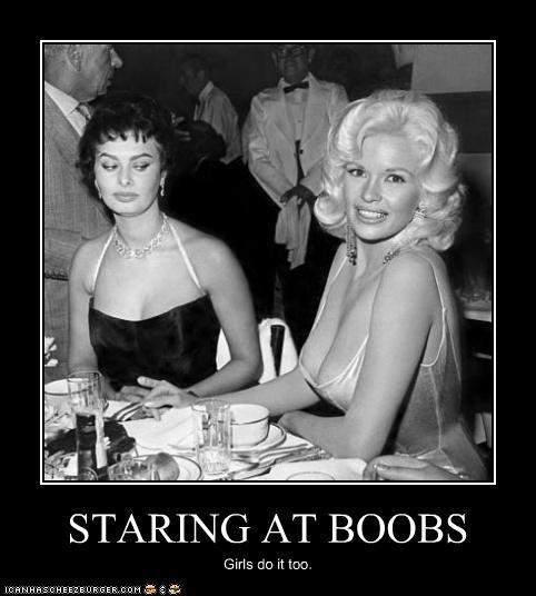 bewbs,classic hollywood,Jayne Mansfield,Sophia Loren
