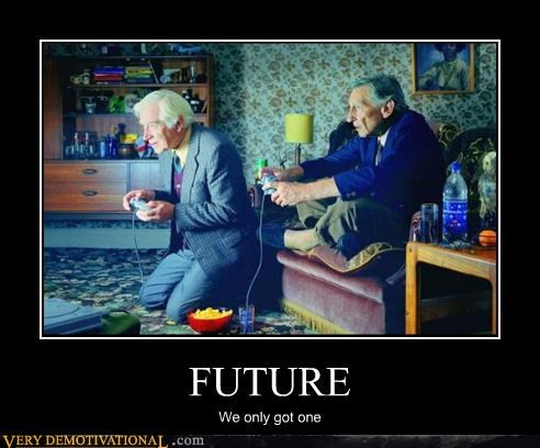old guys awesome future - 3039685632