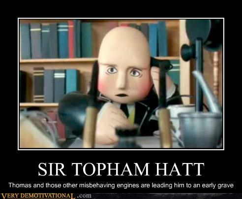 thomas the tank engine,sir topham hatt