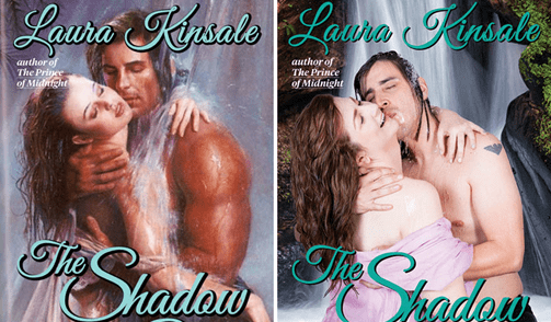 10 Unretouched Romance Novel Covers Reenacted by Real People