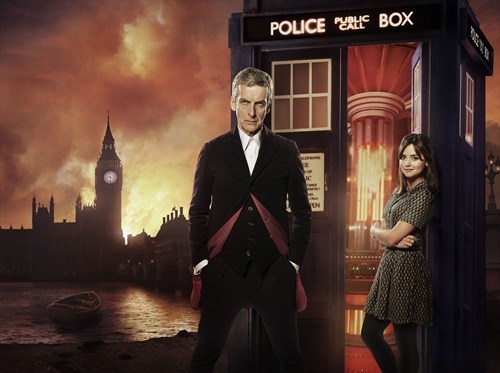 clara oswin oswald,premiere,behind the scenes,12th Doctor