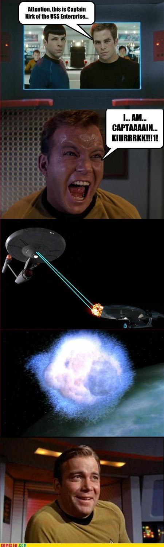 Kirk verus Kirk,Star Trek
