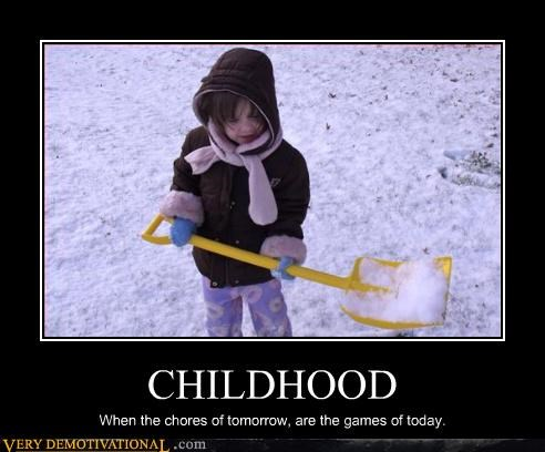 games childhood chores