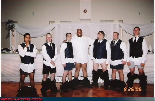 crazy groom,de-pants groomsmen,eww,fashion is my passion,funny groomsman picture,funny groomsmen picture,funny wedding photos,groom,Groomsmen,pantsless groomsmen,surprise,wedding party,wtf