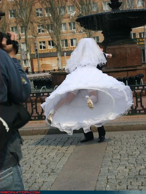 bridezilla Crazy Brides crinoline dog shit fashion is my passion groom technical difficulties upskirt