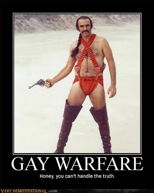 gay,hilarious,Movie,sean connery,warfare,zardoz