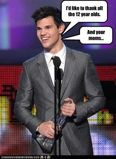 kids moms taylor lautner teeny bopper movies tween twilight twilight moms vampired - 3043663104