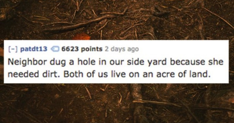 People Share the Absurd Things Their Neighbors Do