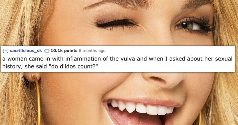 Nurses Reveal the Most Absurd Answers They've Ever Received When They Asked Someones Sexual History