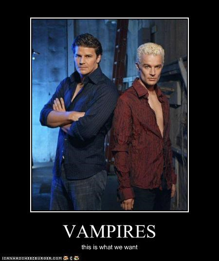 VAMPIRES this is what we want