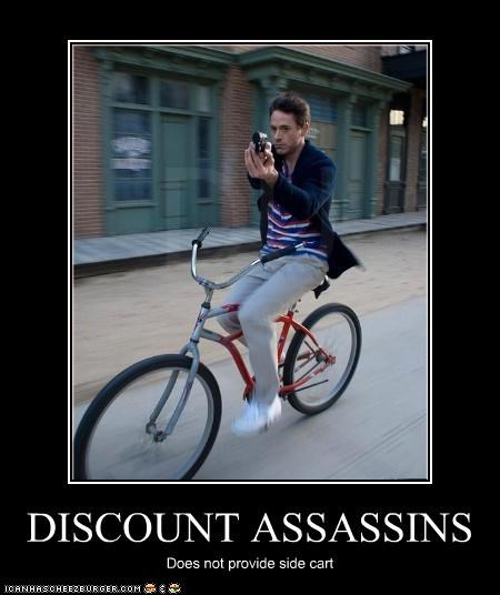 DISCOUNT ASSASSINS Does not provide side cart