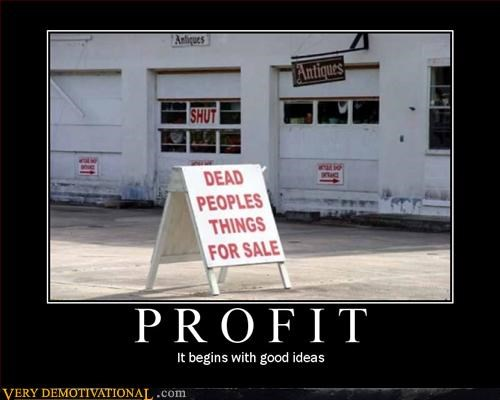 capitalism,Dead People,hilarious,profit