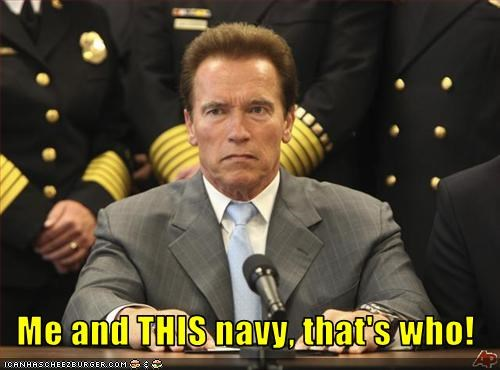 Arnold Schwarzenegger,california,Governor,navy