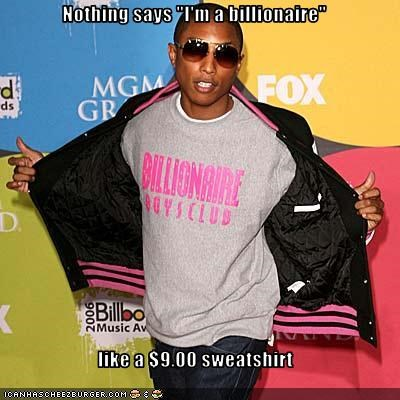 billionaire clothing Music pharrell williams rapper - 3053082112