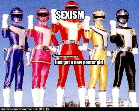 SEXISM Just got a new poster girl <----------------