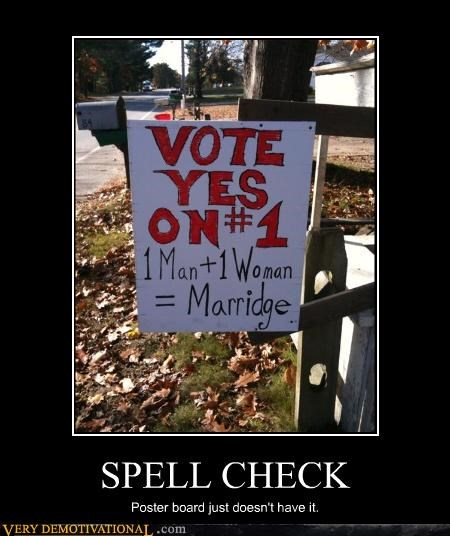 sign wtf spelling marriage idiots - 3053952768