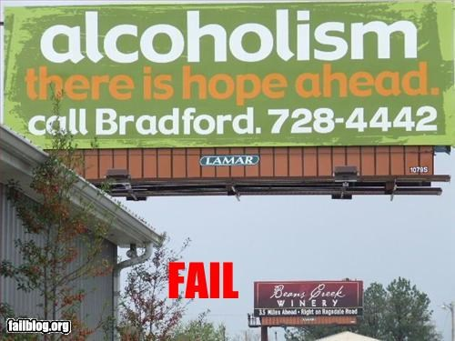alcohol g rated irony juxtaposition signs - 3054666496