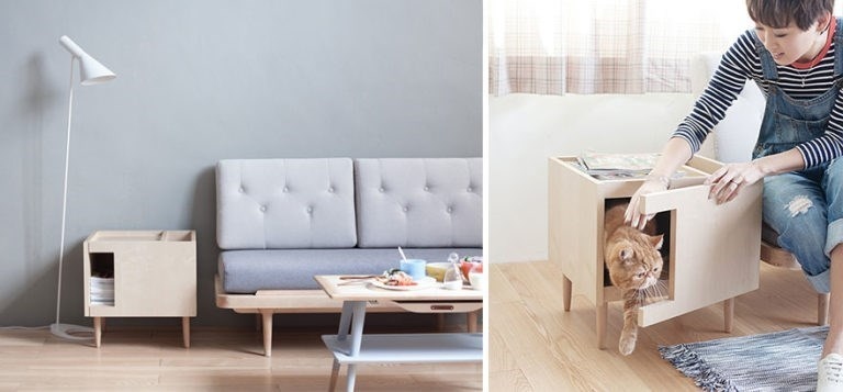 Gorgeous furniture design ideas for cat lovers