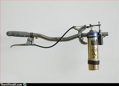 bad idea DIY flamethrower hairspray - 3058361600