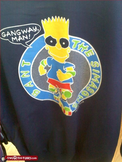clothing,g rated,knock off,the simpsons,T.Shirt