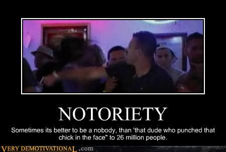 idiots,jersey shore,Mean People,notoriety,slapping