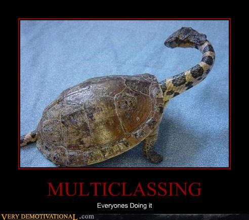 wtf,multiclassing,turtle,snake